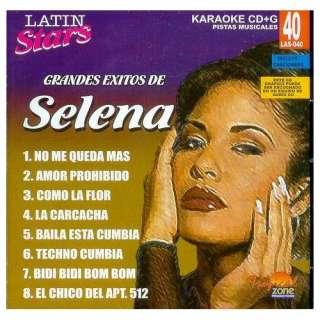 Latin Stars   Selena (Karaoke CDG) Music