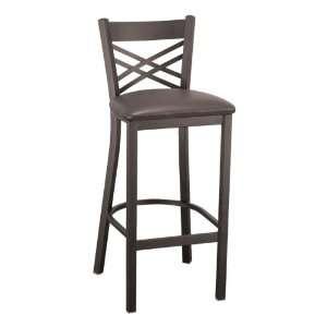 KFI Seating 3310 Series Cafe Stool   Vinyl Upholstered Seat Furniture