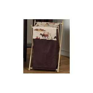 West Cowboy Western Horse Clothes Laundry Hamper by JoJo Designs: Baby
