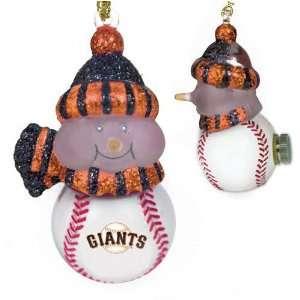San Francisco Giants 3 All Star Light Up Snowmen Sports