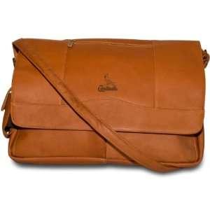 Leather Laptop Messenger Bag   St. Louis Cardinals