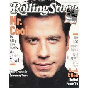Rolling Stone Magazine, Issue 728, February 1996, John Travolta Cover