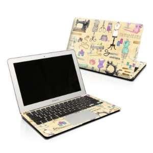 Haberdashery Design Skin Decal Sticker for Apple MacBook PRO