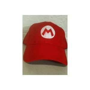 Super Mario Bros Mario Red Hat Free Size