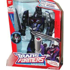 Leader Class 10 Inch Tall Robot Action Figure   Decepticon Leader