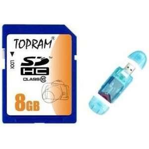 Memory Card + R1 Blue USB Flash Card Reader / Writer Computers
