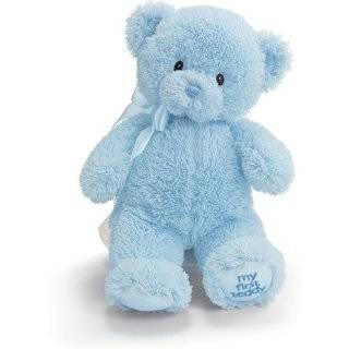 Blue & Brown Plush Teddy Bear Adorable Stuffed Animal Toys & Games