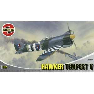 Hawker Tempest V Military Aircraft Classic Kit Series 2 Toys & Games