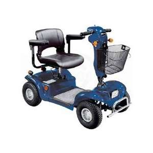 Drive Medical Odyssey 4 Wheel Full Size Scooter, Blue