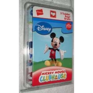 Boys Briefs, Mickey Mouse Clubhouse, Size 2T 3T