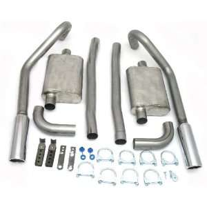 2654 2.5 Stainless Steel Exhaust System for Mustang 67 70 Automotive