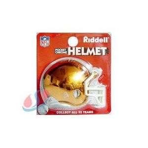 Cleveland Browns Chrome Pocket Pro NFL Helmet