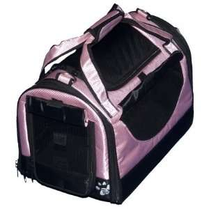 3 in 1 Soft Sided Pet Carrier Small Crystal Pink