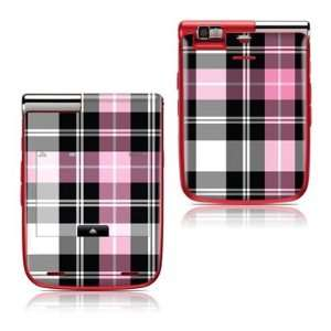 Pink Plaid Design Protective Skin Decal Sticker Cover for