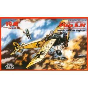 Pfalz E.IV WWI German Fighter (Plastic Model Airplane) Toys & Games