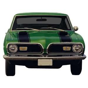 1969 Plymouth Barracuda Hood and Header Decal and Stripe