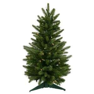 2 Pre Lit Frasier Fir Artificial Christmas Tree   Clear