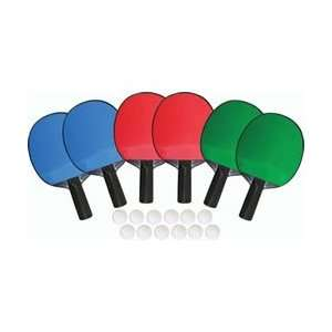 Player Table Tennis Set   Quantity of 3  Sports