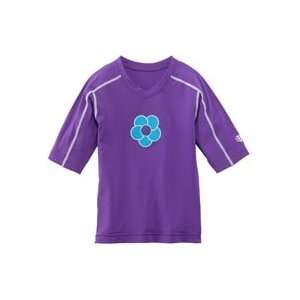 Girls Paddle In Short sleeve Rash Guard UPF 50+: Sports & Outdoors