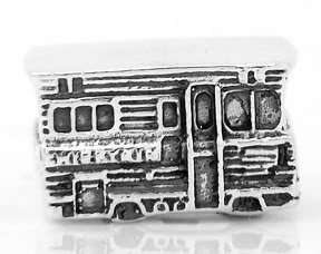 Sterling Silver Recreational Vehicle RV Travel European