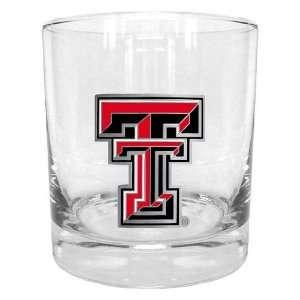 com NCAA exas ech Red Raiders Round Rocks Glass Spors & Oudoors
