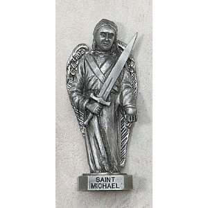 Saint Statue Genuine Pewter Catholic Religious Gifts: Home & Kitchen