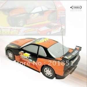 remote control toys remote control car 134 car model orange Toys