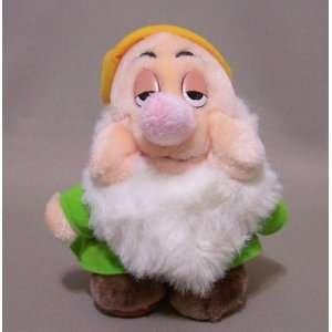 Sleepy Snow White and the Seven Dwarfs Mini Vintage Stuffed Plush Doll