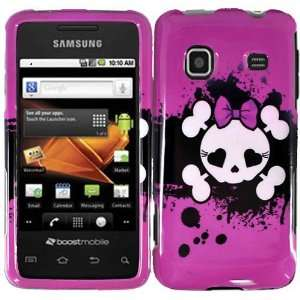 Pink Skull Hard Case Cover for Samsung Prevail M820