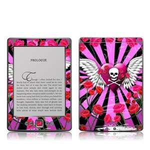 Skull & Roses Pink Design Protective Decal Skin Sticker