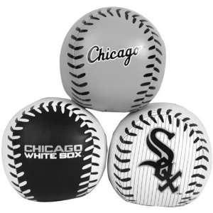 MLB Rawlings Chicago White Sox Softee 3 Ball Set