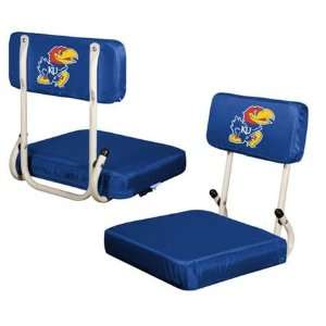 Kansas Jayhawks Hardback Stadium Seat Chair