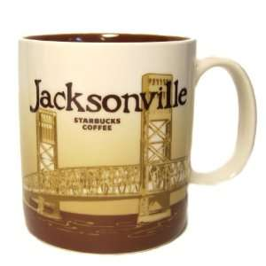 Starbucks Coffee Mug City Collection Cup  Jacksonville, 16