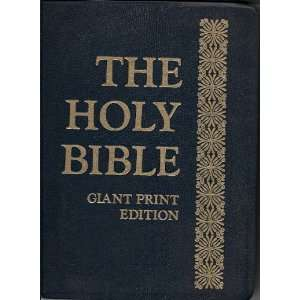 The Holy Bible Authorized King James version