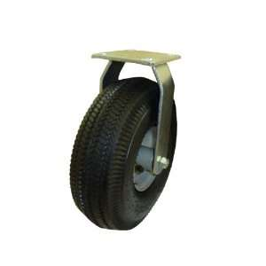 Inch Rigid Caster with Air Filled Pneumatic Tire Patio, Lawn & Garden