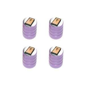 Bible   Religious Christian   Tire Rim Wheel Valve Stem Caps   Purple