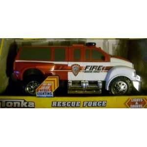 Tonka Rescue Force   Fire Rescue truck   Lights & Sound  Toys & Games