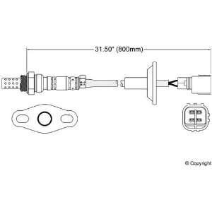 New Toyota Tacoma Walker Oxygen Sensor 00 Automotive
