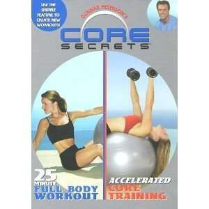 SECRETS  25 MINUTE FULL BODY WORKOUT & ACCELERATED CORE TRAININGDVD