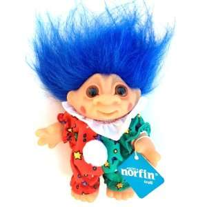 Norfin 5 Party Clown Troll Doll ~ 1984 by DAM Toys & Games
