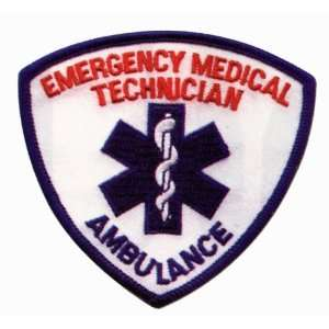 EMT EMS PARAMEDIC Uniform Patch 3 1/2 x 3 1/2 Star of