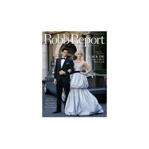 Robb Report Magazine September 2006 Sneak Preview (Single
