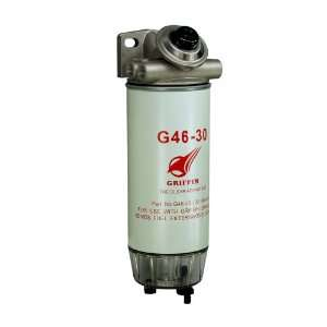 Griffin G460 30 Spin On Fuel Filter / Water Separator Automotive