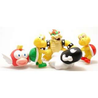 Super Mario Characters Collection 2 Figure Set of 5