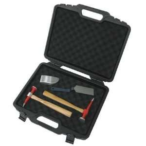 NUPLA 6894026 Body Tool Set,Wood Handles,4 Pc