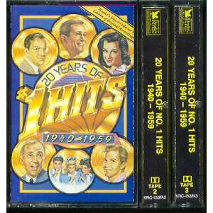 20 Years of No. 1 Hits 1940   1959 Various Artists Music