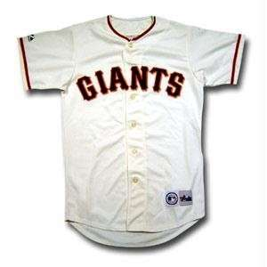 Giants Youth Replica MLB Game Jersey (Large)