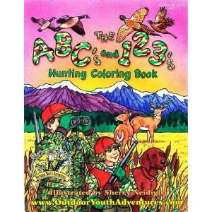 Outdoor Youth Adventures ABC and 123 Hunting Coloring Book