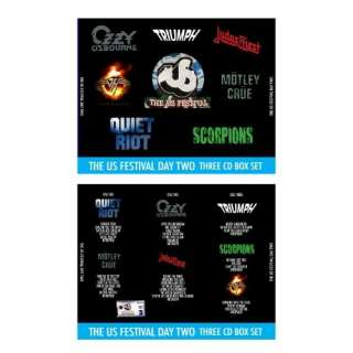 Crue, Ozzy Osbourne, Triumph, Judas Priest and The Scorpions) Music
