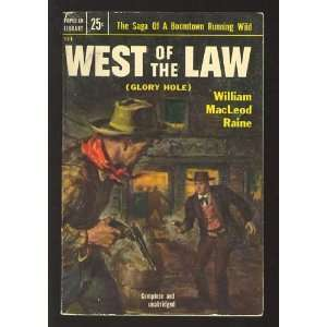 West of the Law aka Glory Hole (Popular Library 531